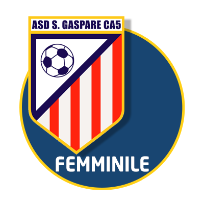 logo squadra calcio a 5 femminile roma san gaspare