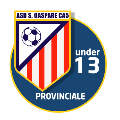 logo under 13 calcio a 5 roma san gaspare provinciale