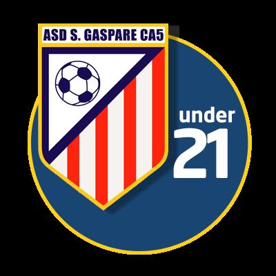 logo under 21 calcio a 5 roma san gaspare