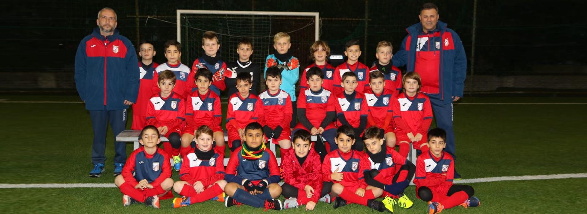 squadra under 10 calcio a 5 roma san gaspare