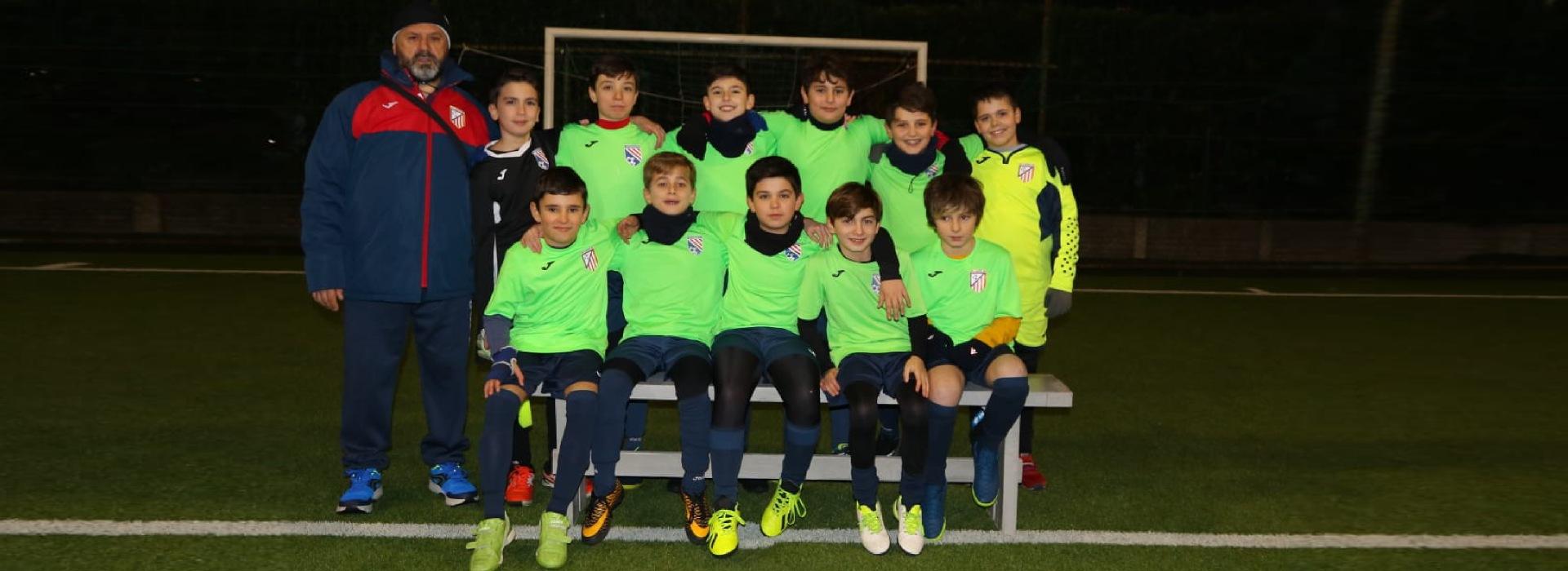 squadra under 12 calcio a 5 roma san gaspare