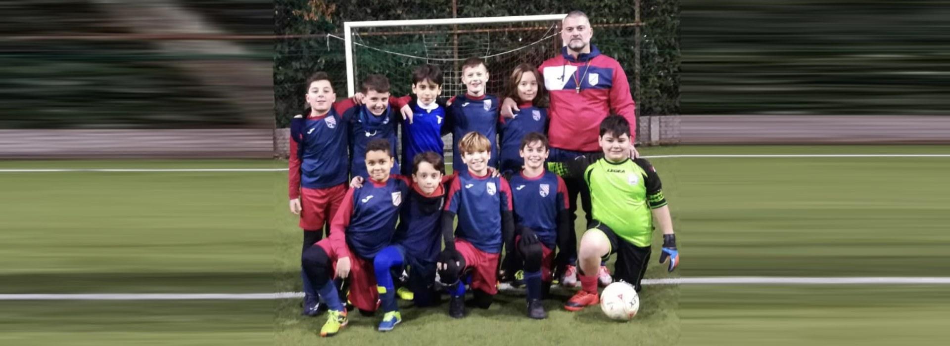 squadra under 11 calcio a 5 roma san gaspare