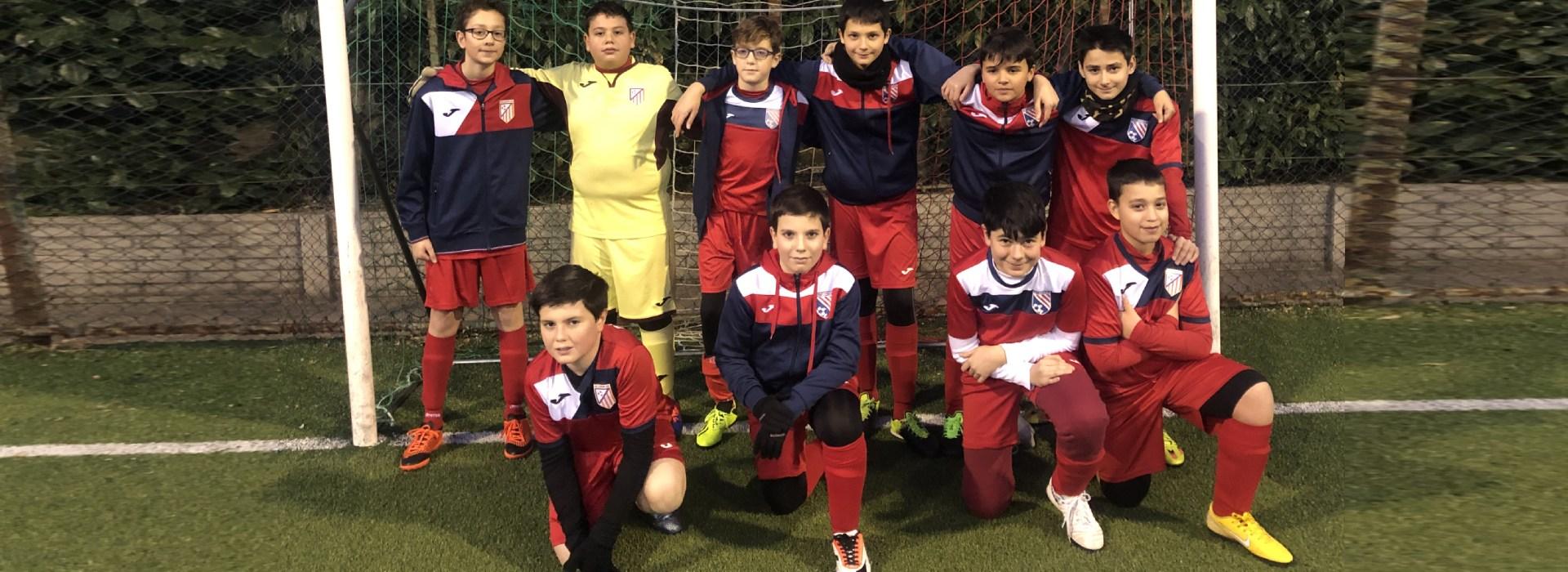 squadra under 13 calcio a 5 roma san gaspare oratorio