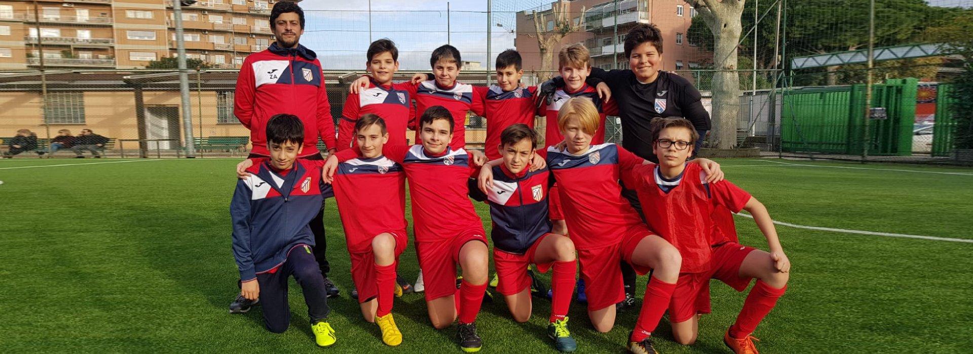 squadra under 13 calcio a 5 roma san gaspare provinciali