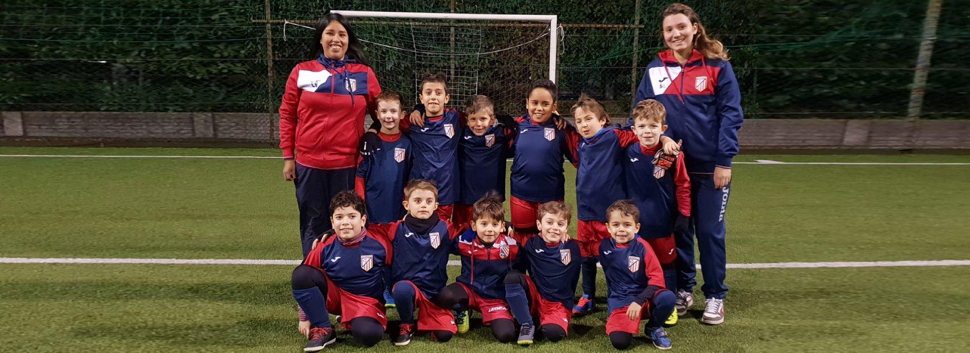 squadra under 8 calcio a 5 roma san gaspare